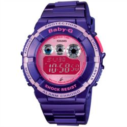 Reloj digital Casio BGD-121-6ER Morado
