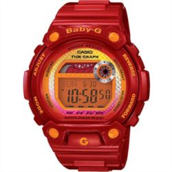 Reloj digital Casio BLX-100-4ER Rojo